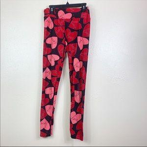 4/$25 LuLaRoe Heart Leggings